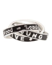 Vivienne Westwood - Metallic Live Ring - Lyst