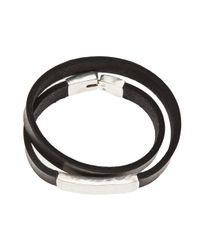 Werkstatt:münchen - Brown Wraparound Bracelet for Men - Lyst