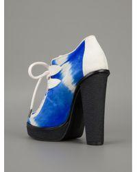 B Store Blue 'debbie 1' Ankle Boots