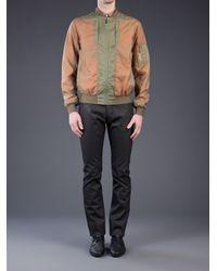 Calvin Klein Green Bomber Jacket for men