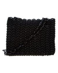 Paco Rabanne Black Disk Link Bag