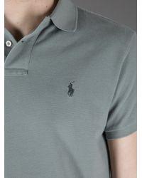 Polo Ralph Lauren Gray Classic Polo Shirt for men