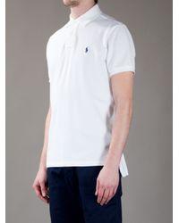 Polo Ralph Lauren | White Polo Shirt for Men | Lyst
