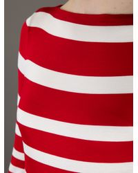 Ralph Lauren White Striped Dress