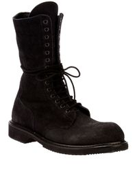 Rick Owens | Black Boots for Men | Lyst