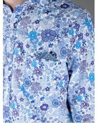 Robert Friedman - Multicolor Floral Print Shirt for Men - Lyst
