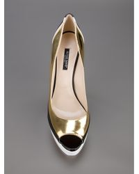 Ruthie Davis - Metallic Golf Shoe - Lyst