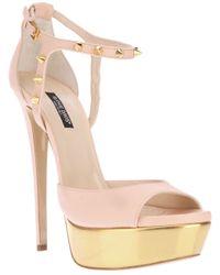 Ruthie Davis - Pink Juptier Platform Sandal - Lyst
