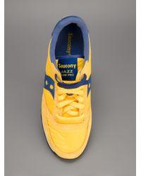 Saucony Yellow Jazz Low Pro Trainer for men