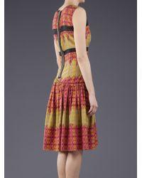 Sophie Theallet | Multicolor Arabesque Print Dress | Lyst