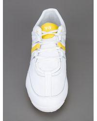Y-3 White Boxing Sneaker for men