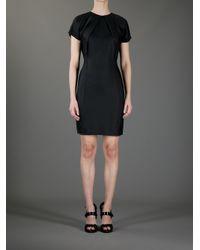 Acne Studios Black Sweety Fluid Dress