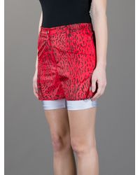 Opening Ceremony White Double Layer Shorts