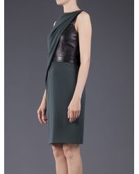 Alexander Wang Black Asymmetric Draped Dress