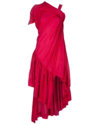 Bernhard Willhelm | Purple Cassandra Wat Dress | Lyst