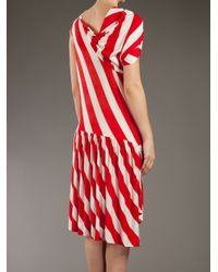 Bernhard Willhelm | Red Curvy Porn Dress | Lyst