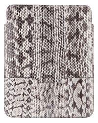 By Malene Birger Brown Snakeskin Print Ipad Case