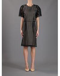 Chloé - Black Layered Dress - Lyst
