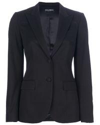 Dolce & Gabbana Black Two-Piece Suit