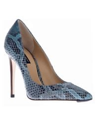 Dolce & Gabbana Blue Stiletto Pump