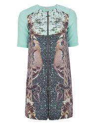 Emma Cook | Green Printed Dress | Lyst