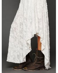Free People White Fit For A Princess Dress