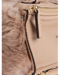 Givenchy | Natural Pandora Fur Bag | Lyst