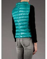 Herno - Green Liane Gilet - Lyst