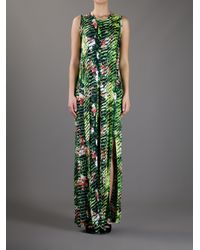 KENZO - Green Sleeveless Dress - Lyst