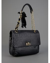 Lanvin | Black Quilted Bag | Lyst