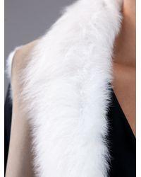 Liska - Natural Shearling Gilet - Lyst