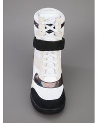 Marc By Marc Jacobs White High Tops Trainers