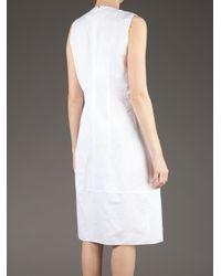 Marni White Sleeveless Dress