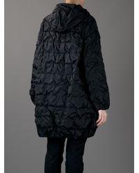 Moncler Black Minerva Oversized Jacket