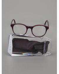 Prism - Purple Round Frames - Lyst