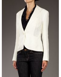 Ralph Lauren | White Linen Blazer | Lyst