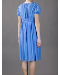 Vanessa Bruno - Blue Empire Line Dress - Lyst