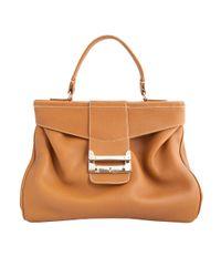VBH | Brown Tote Bag | Lyst