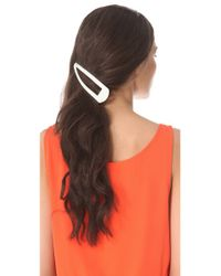 Adia Kibur - Natural Jumbo Hair Clips - Lyst