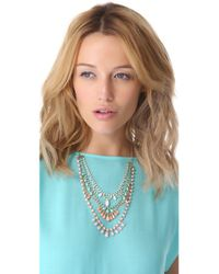 Adia Kibur - Multicolor Layered Stone Necklace - Lyst