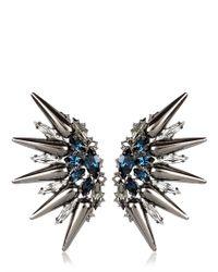 Anton Heunis | Gray Tsarina Collection Earrings | Lyst