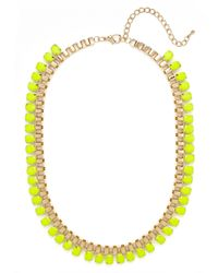 BaubleBar - Yellow Fluoro Gear Strand - Lyst