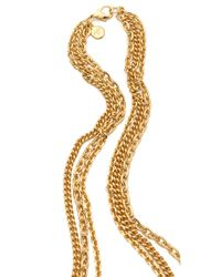 Ben-Amun | Metallic Portofino Layered Pendant Necklace | Lyst