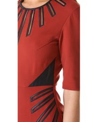 Catherine Deane Red Phoenix Dress