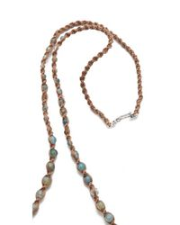 Chan Luu Blue Beaded Necklace