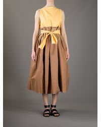 Daniela Gregis Yellow Gelato Dress