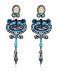 Dori Csengeri - Blue Icarus Earrings - Lyst