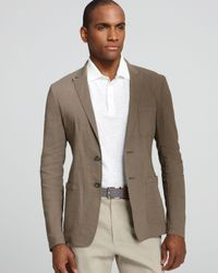 Elie Tahari Natural Miles Linen Sport Coat for men