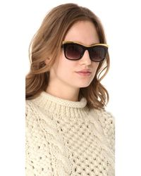 Elizabeth and James Metallic Limited Edition Valenti Sunglasses