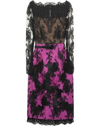 Erdem | Black Ariel Lace Dress | Lyst